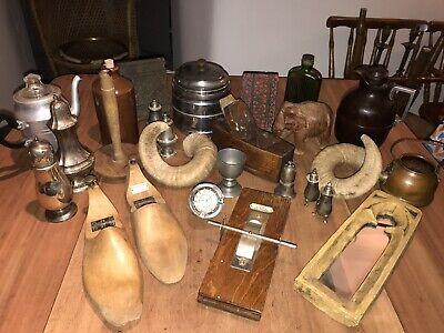 Antique Vintage Collectable Job Lot. 26 Items. Car Boot