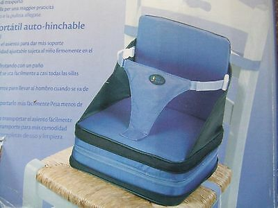 First Years on the go self inflating booster seat travel portable Lightweight