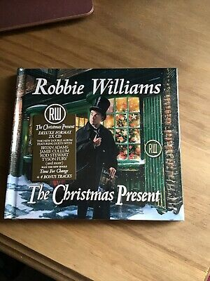 Brand New and Unopened Robbie Williams The Christmas Present Deluxe CD