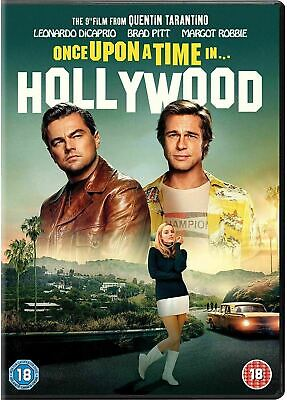 Once Upon a Time In Hollywood [DVD] Brand New Sealed 2019