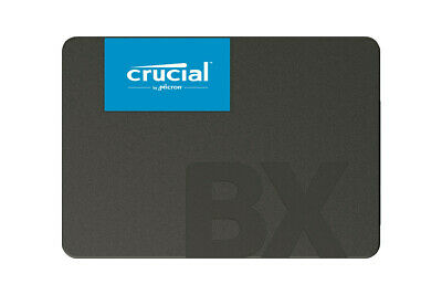 """Crucial BX500 Solid State Drive 480GB 2.5"""" SATA III 540MB/s *** NEW ***"""