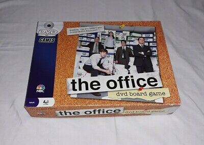 The Office DVD Board Game Trivia Dunder Mifflin Pressman 2008 NBC - Complete.