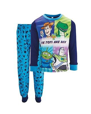 Toy Story 4 Childrens Long Sleeve Pyjamas 3-4 5-6 7-8 Official Merchandise