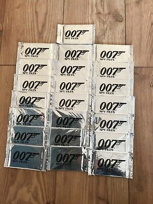 JAMES BOND 007 Collection Of SPY FILE Cards sealed, 21 in total from 2002