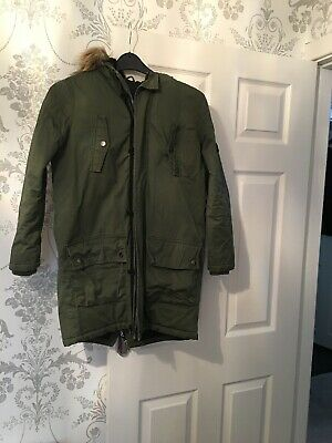 River Island Girls Winter Parka Coat Age 12 Years
