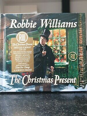 Robbie Williams The Christmas Present (Deluxe CD) Bonus Trax Brand New Sealed