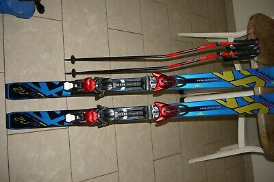 SKI OCCASION JUNIOR Salomon X race SW + fixations EUR 50