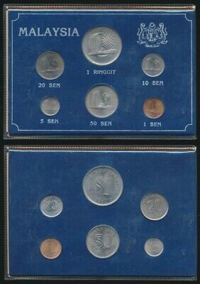 Malaysia: Uncirculated Coin Set in Presentation Card