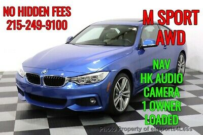 2017 BMW 4-Series CERTIFIED 440i xDrive M Sport AWD LED NAVI CAMERA BMW 4 Series 19,940 Miles eimports4less Auto Sales Inc. Perkasie