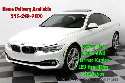 2016 BMW 4-Series Certified 435i xDrive Luxury Line AWD Navi Camera BMW 4 Series 18,035 Miles eimports4less Auto Sales Inc. Perkasie