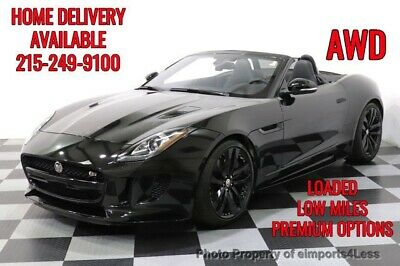 2017 Jaguar F-Type CERTIFIED F-TYPE S AWD VISION PACKAGE Jaguar F-TYPE 6,276 Miles eimports4less Auto Sales Inc. Perkasie