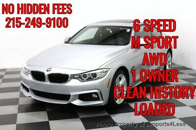 2017 BMW 4-Series CERTIFIED 440i xDrive M Sport Manual Trans HUD Xen BMW 4 Series 27,115 Miles eimports4less Auto Sales Inc. Perkasie