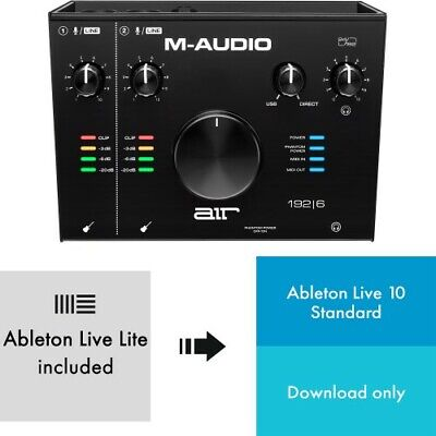 M-Audio AIR 192x6 + Ableton Live 10 | Neu