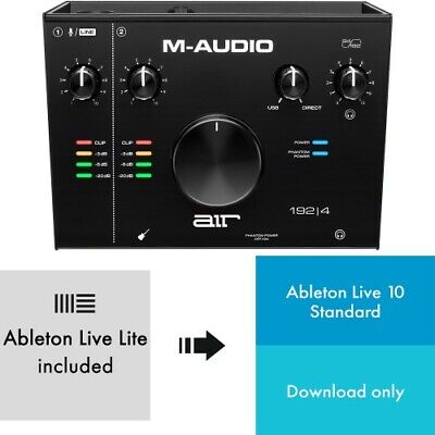 M-Audio AIR 192x4 + Ableton Live 10 | Neu