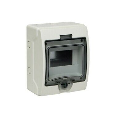 SAIP Distribution Board IP65 Modular Enclosure Electrical Box 3-6 way