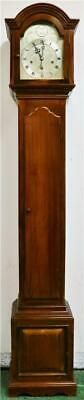 Antique Figured Mahogany Whytock Dundee 8 Day Musical Longcase Grandmother Clock