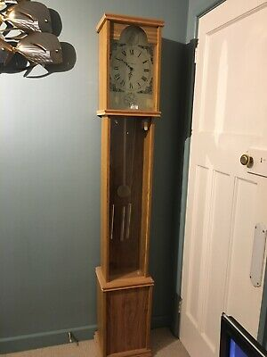 Electric Grandfather Long Case Clock