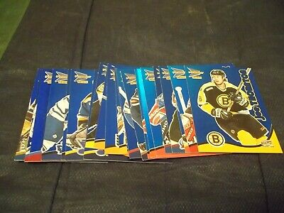 2000-01 McDonalds Hockey Blue Parallel singles (you choose from list)