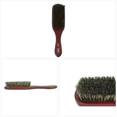 Annie Mini Military Brush 100/% Pure Boar Bristles Soft Brush Black forHair #2115