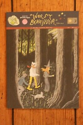 Worst Behavior by Simon Hanselmann - Megg Mogg Owl & Werewolf Jones 1st Print NM