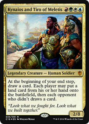 Kynaios und Tiro von Meletis Commander 2016 Magic Kynaios and Tiro of Meletis