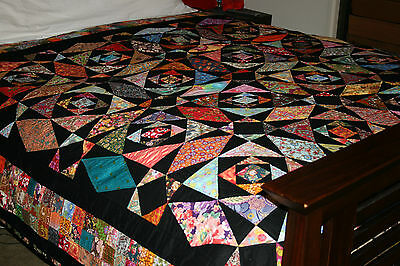 """INTRINSIC - 88"""" - Pre-cut Quilt Kit by Quilt-Addicts Queen size"""