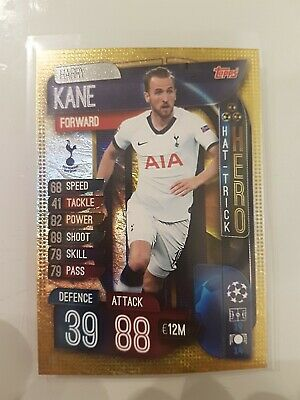 Match Attax 2019/20 Harry Kane Hat-Trick Hero No 318 Mint