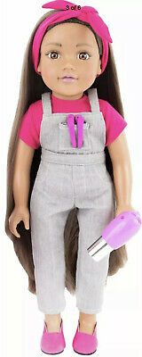 Kids Chad Valley Designafriend Milly Doll Long Hair Christmas Present Gift Toy