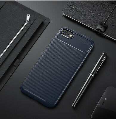 Shockproof Silicone Carbon Fiber Fibre Case Cover For iPhone XS Max XR X 8 Case