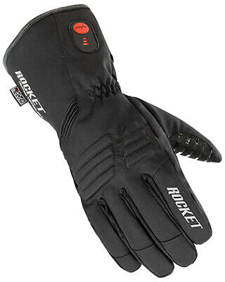 New Black Lg Joe Rocket Rocket Burner Heated Gloves 1522-2004