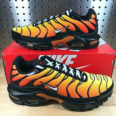 Nike Air Max Plus OG Tiger TN Air Black Red Mens Shoes [852630-040] Size 11