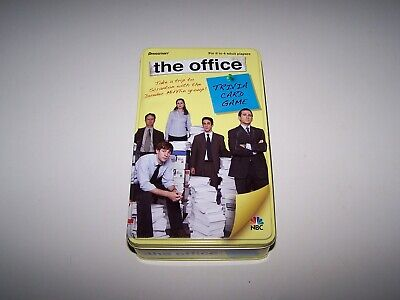 The Office: Trivia Card Game - Complete in Tin - Rare - Good Condition