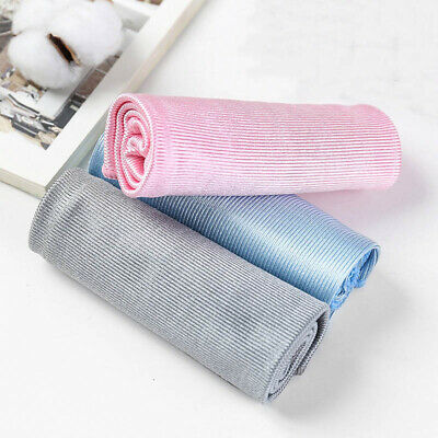 No Trace Microfiber No Lint Window Car Rag Cleaning Towel Kitchen Cleaning ZB