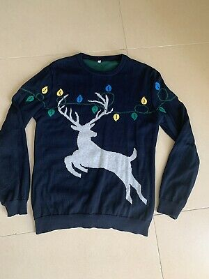 Marks and spencer Boys Christmas Jumper 12-13 Years