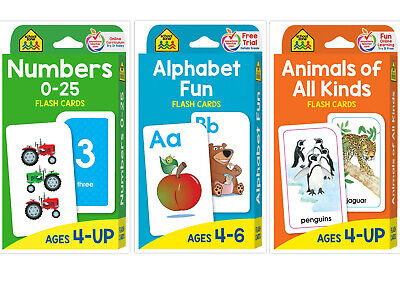 Children's Flash Cards Kids Educational  Pre School Learning Numbers Gift Fun