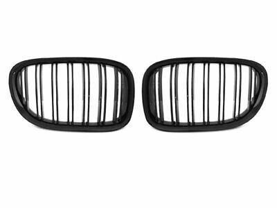 Front Grill for BMW F01 7 Series 2009-2012 Double Bar Glossy Black BE GRBMB0EP X