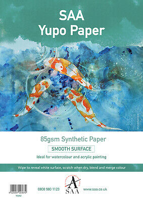 Yupo Painting Paper 10 loose sheets A2 85gsm