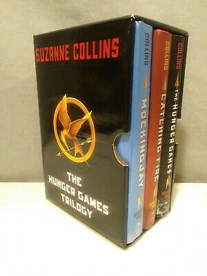 The Hunger Games Trilogy 3 Book Set Hardcover 1st Editions Suzanne Collins