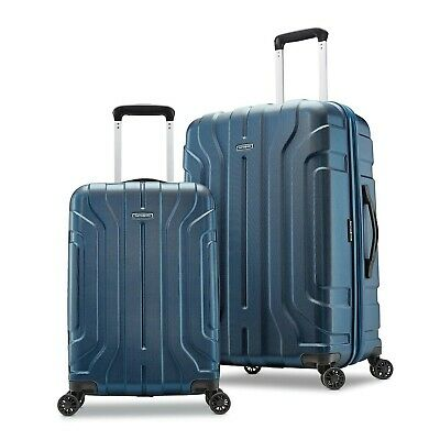 Samsonite Belmont DLX Two Piece Hardside Luggage Set - Blue