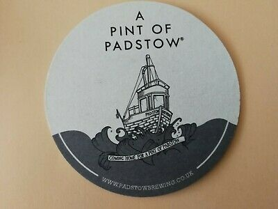 2 coasters craft brewery PADSTOW BREWING C O. / UK
