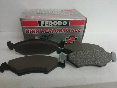 FERODO FCP 206A RALLY / FAST ROAD 3466 FRONT BRAKE PADS for FORD FIESTA XR2 Mk2