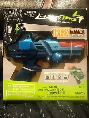 Lazer Tag Gun IRT-2X Tagger by Tiger Electronics Brand New Sealed