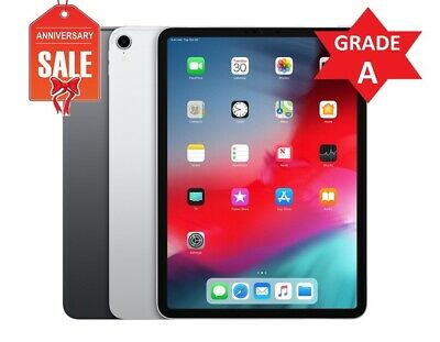 Apple iPad Pro 3rd Gen. 64GB 256GB 512GB 1TB, Wi-Fi, 11in - Space Gray or Silver