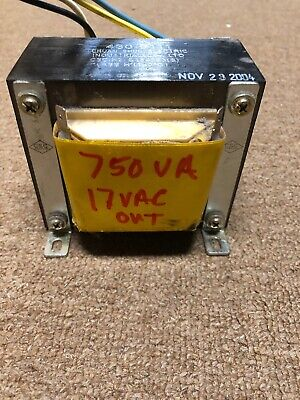 Transformer 750VA 17VAC Out