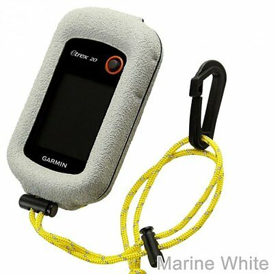 GizzMoVest for eTrex 10 20 30 Molded Case in Marine White