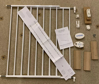 Lindam Extending Metal Stair Gate For Baby And Pets - Good Condition