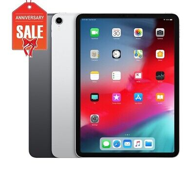 Apple iPad Pro 3rd Gen WiFi + Cellular 11in - 64GB 256GB 512GB Space Gray Silver