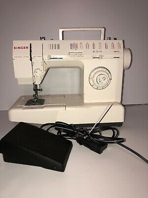 Singer 621B Sewing Machine, Foot Pedal, Power Cord No Case Used