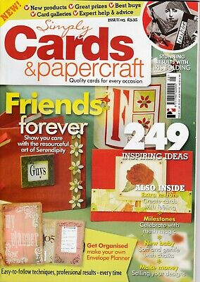 Simply Cards & Papercraft Magazine #5~Sell Your Designs~Techniques~Milestones