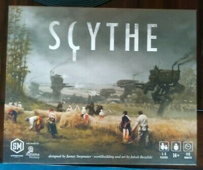 Stonemaier Games Scythe Board Game Barely Used